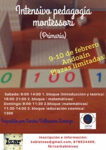 Curso Montessori ES