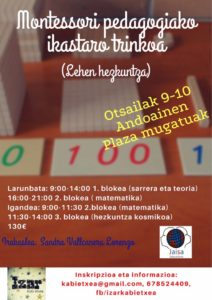 Curso Montessori EU