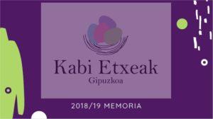 Memoria KE 2018/19 - EU portada